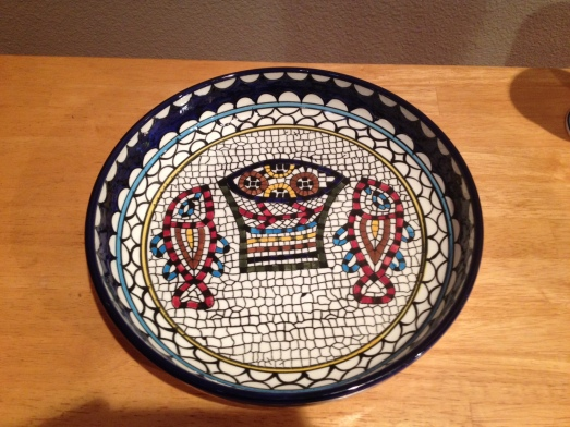 Tabgha Baptismal Bowl
