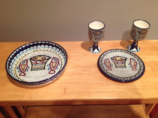 Tabgha Communion Set