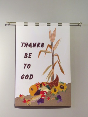 Thanksgiving Thanks Banner