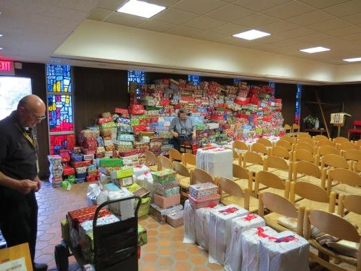 Christmas Boxes 2014 chapel