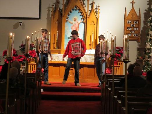 Christmas Eve 2014 Aaron Jadon Carson