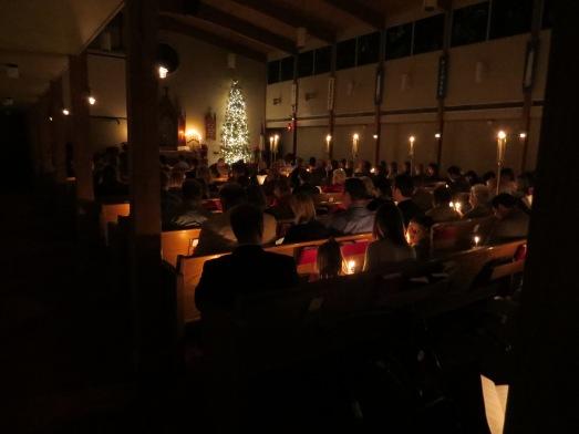 Christmas Eve 2014 Candles