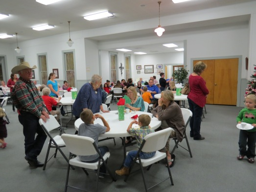 MLLS Christmas 2014 Fellowship