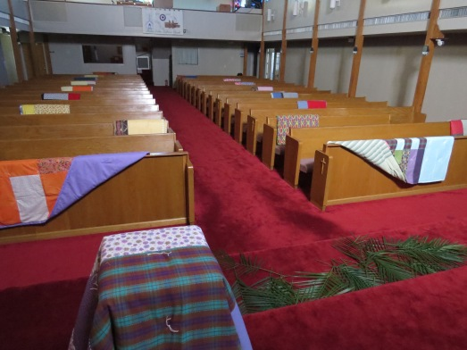 Palm Sunday 2015 Quilt from front