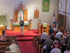 Lutherhill Sunday 2015 Singing