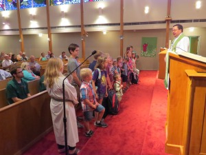 Lutherhill Sunday 2015 Students