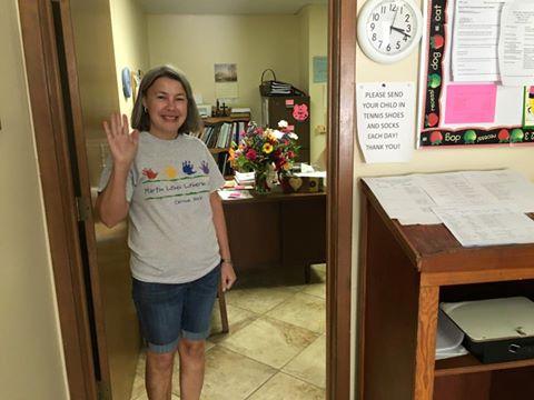 Kelli Meinholdt Farewell Office