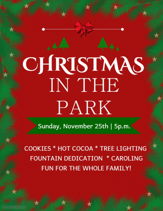 Copy of Christmas at the park - Made with PosterMyWall (1)[2305843009213715640]