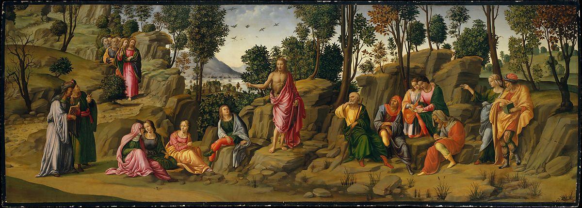 John the Baptist Francesco Granacci