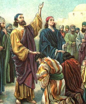 Barnabas and Saul