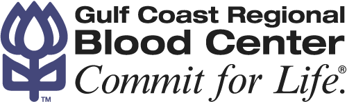 Gulf Coast Blood Center Logo
