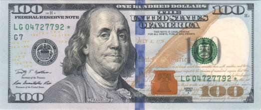 $100 Bill 2009