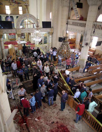 Coptic Church Bombing 2017