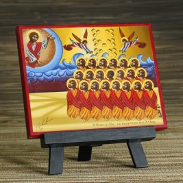 Martyrs of Libya Icon 3