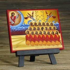 Martyrs of Libya Icon 3