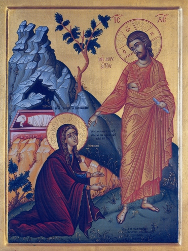 Mary Magdalene and Jesus Icon