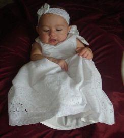 Baptismal Garment baby