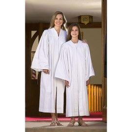 baptismal garment robe