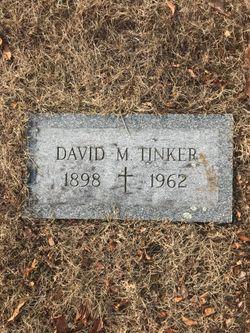 David M Tinker grave